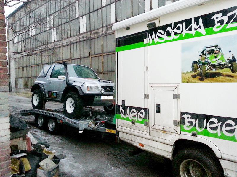 Great Escape Rally – start ekip MGR  (MUTTOWA GRUPA RAJDOWA)